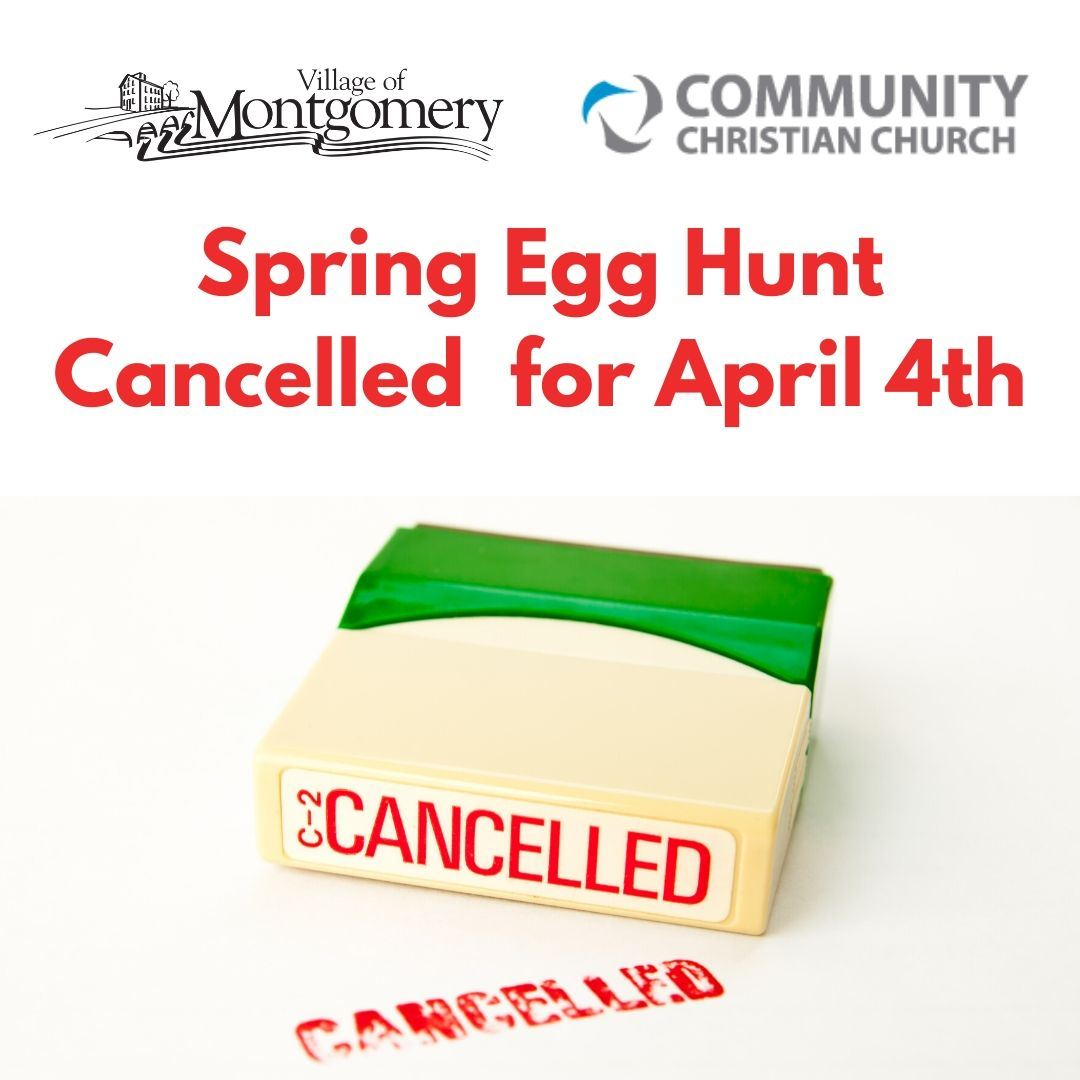 egg hunt cancelled square